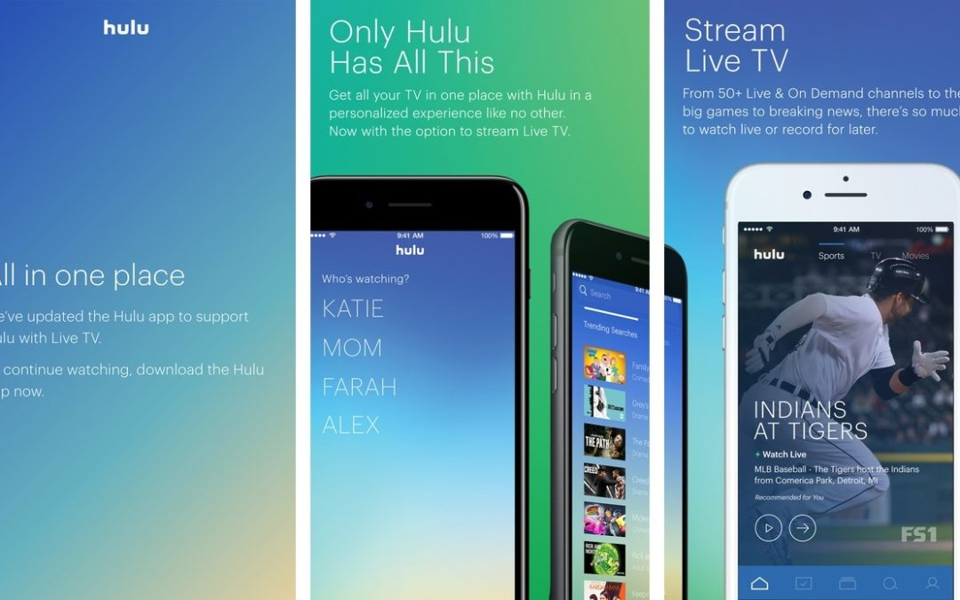 Hulu Merges Live TV App Features into its Core iOS App | Ts  Mohd