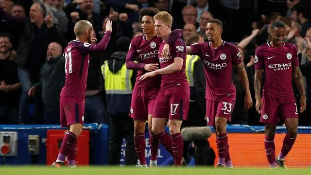 De Bruyne fires Man City to statement win at Chelsea
