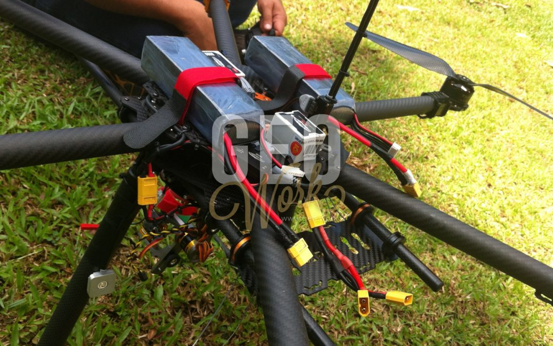 DIY Drone. Materials from China.
