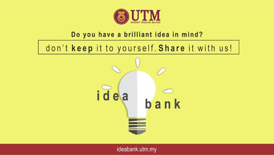 Transformasi Idea Bank UTM 2019