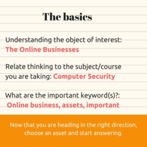 Exam questions types and workings Pt2