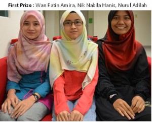 First prize winners