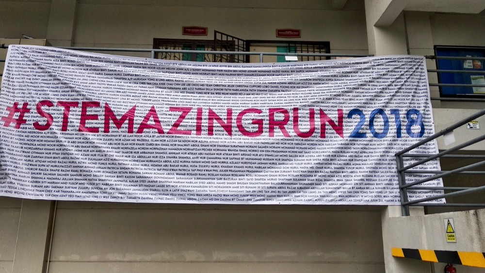 STEMAZING RUN 2018 Video Highlight