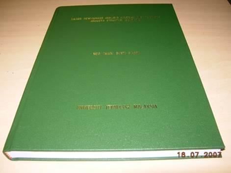 thesis utm fka