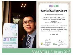Best Technical Paper Award