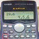 Trick to calculate MOD (modulus) with a CASIO calculator