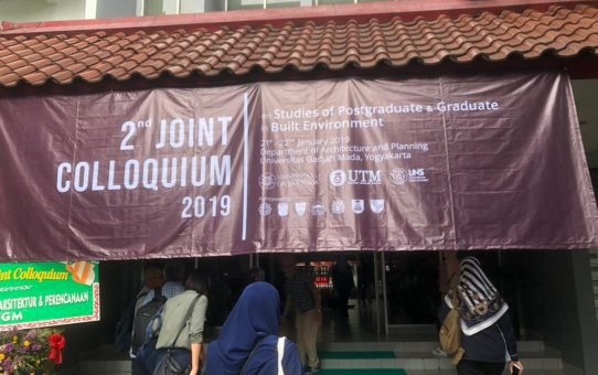 ::2nd Joint Colloquium 2019 on Studies of Postgraduate and Graduate in Built Environment::