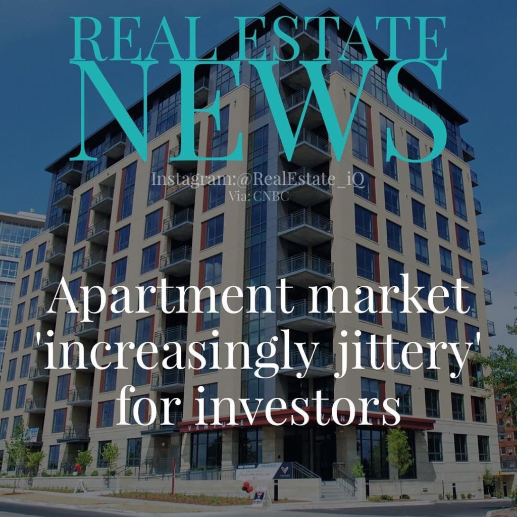 """Apartment Market """"Increasingly Jittery"""" For Investors"""