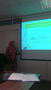 Nurul Izzati, master student in Bussiness Intelligence Analytic