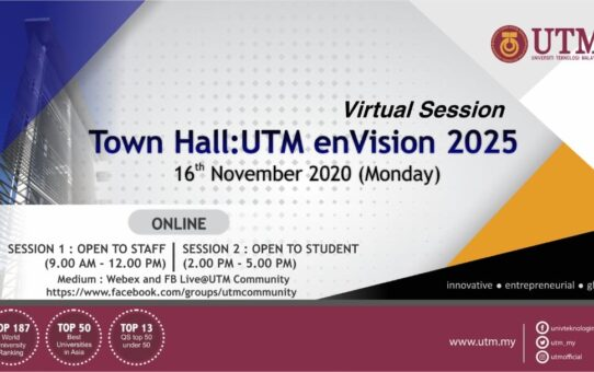 UTM enVision 2025: Town Hall