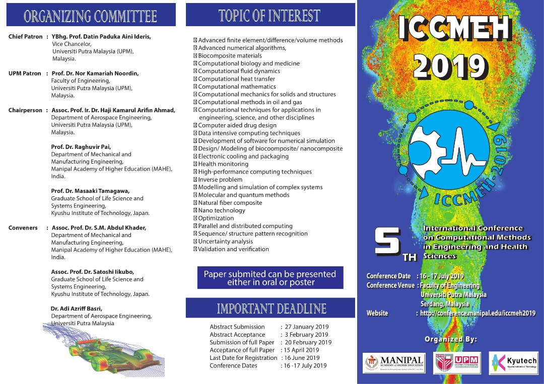 CALL FOR PAPERS 5th INTERNATIONAL CONFERENCE ON COMPUTATIONAL