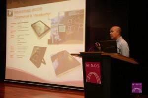Encik Saharudin Busri: Head of Design Department in Mimos