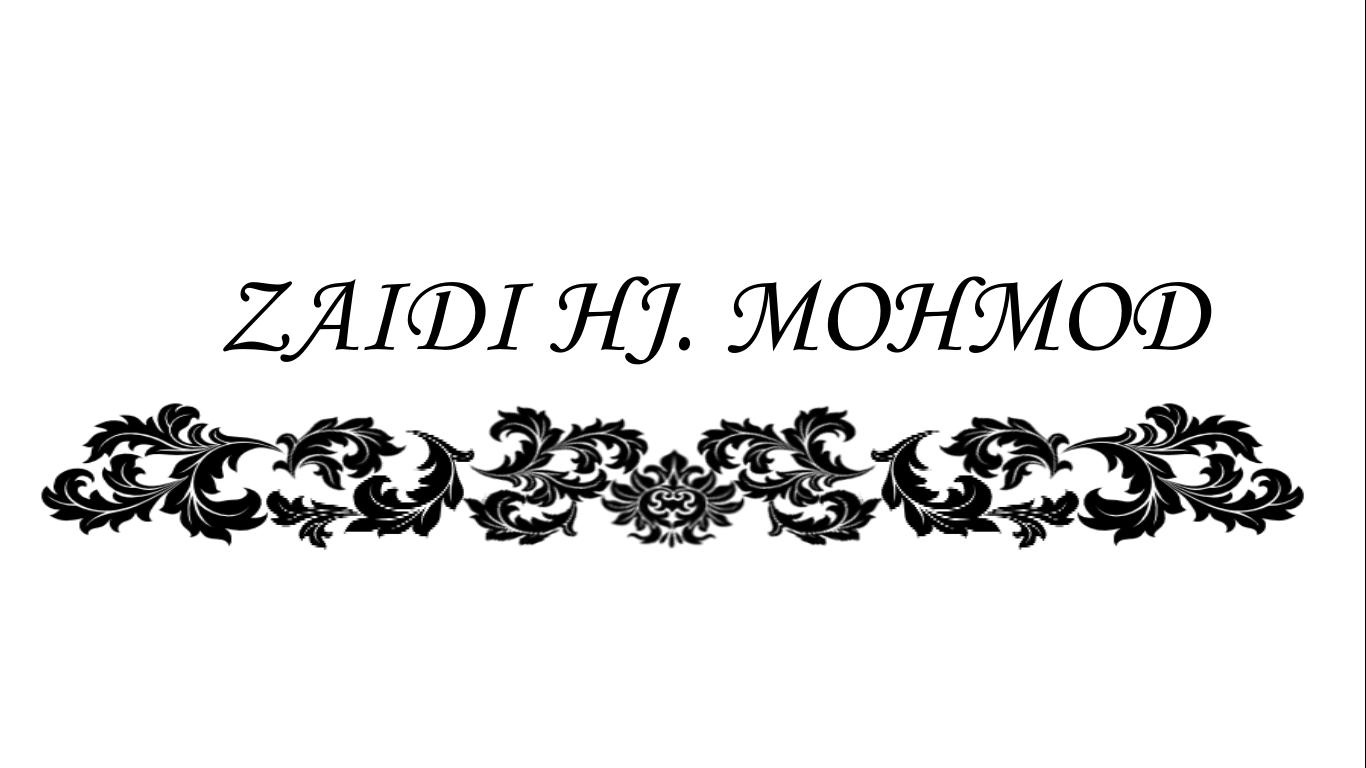 Zaidi Bin Hj. Mohmod