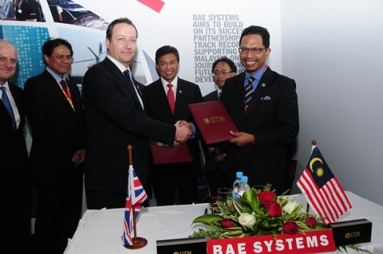 UTM Embarks on Industry Linkages With BAE System