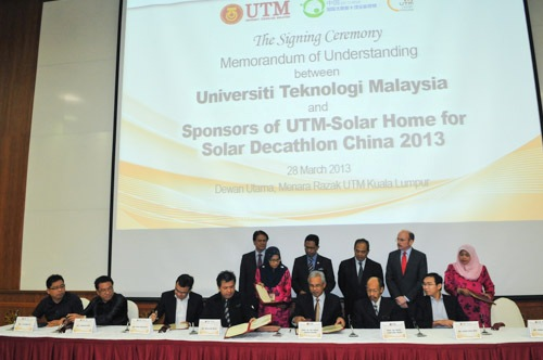 MoU Signing Ceremony between UTM and Four Organisations