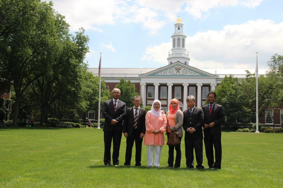 Official visit to MIT and Harvard, USA